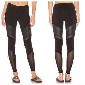 ALO Yoga Black Sheila Leggings Sz S
